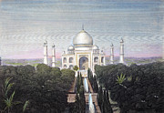 19th Century Architecture Prints - Taj Mahal Of India Print by Granger