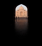India Metal Prints - Taj Portal Metal Print by Mike Reid