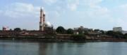 Tajul Masajid Panorama Print by Mohammed Nasir