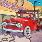 Route 66 Paintings - Take It Easy by Sandy Tracey