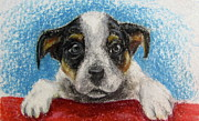 Puppies Pastels - Take Me Home by Anna Hagee