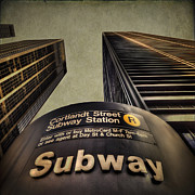 Subway Metal Prints - Take Me Home Metal Print by Evelina Kremsdorf