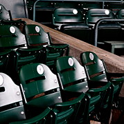 Stadium Seats Art - Take Me Out to the Ball Game by Michelle Calkins