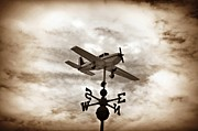 Weathervane Digital Art Prints - Take Me to the Pilot Print by Bill Cannon