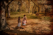 Sisters Metal Prints - Take My Hand Metal Print by Robin-Lee Vieira