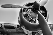 Airplane Propeller Framed Prints - Take-off Framed Print by Ken Marsh