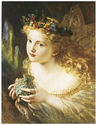 Sophie Prints - Take the Fair Face of Woman Print by Sophie Anderson
