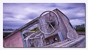 Canon 7d Digital Art Framed Prints - Take the wheel Framed Print by Kevin Chippindall