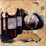 Fine Bottle Mixed Media Posters - Take Time V Poster by Robin Sloan