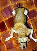 Tiles Originals - Taking it Easy by Beverly  Koski