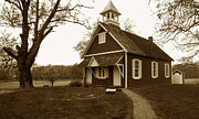 One Room Schoolhouse Prints - Talbot County Schoolhouse Print by Skip Willits