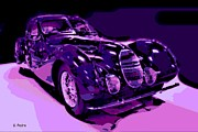 Hand Crafted Art - Talbot Lago by George Pedro