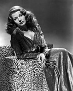 Leopard Print Posters - Tales Of Manhattan, Rita Hayworth, 1942 Poster by Everett