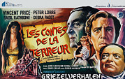 1960s Poster Art Photo Framed Prints - Tales Of Terror, Aka Les Contes De La Framed Print by Everett