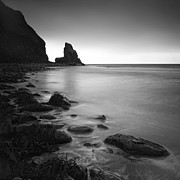 Scotland Photo Posters - Talisker Rock Poster by Nina Papiorek