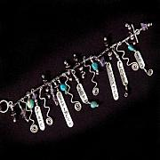 Sterling Silver Jewelry - Talisman Blessings Bracelet by Cheryl Strait