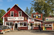 Small Towns Prints - Talkeetna Alaska Print by John Greim