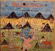 Talking Mixed Media - Talking Heads Little Creatures artist signed record album package by Howard Finster