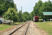 Ga Photos - Talking Rock train depot - 02 by Sherrie Winstead