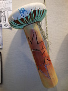 Drum Sculptures - Tall drum by Hunter Quarterman