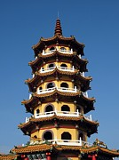 Multiples Photos - Tall Pagoda by Yali Shi