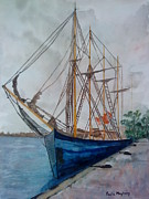 Kathleen Originals - Tall Pirate Ship by Paula Maybery