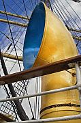 Masts Posters - Tall Ship Poster by Robert Lacy