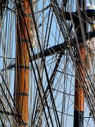 Wooden Ship Metal Prints - Tall Ship Series 11 Metal Print by Scott Hovind