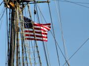 Wooden Ship Metal Prints - Tall Ship Series 3 Metal Print by Scott Hovind
