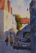 Estonia Originals - Tallinn Estonia by Jim Oberst