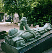 Bewitching Framed Prints - Talmas grave in Pere Lachaise Cemetery in Paris  Framed Print by Shaun Higson
