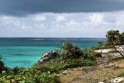 Pleasure Photos - Talum Ruins Mexico Ocean View by Douglas Barnett