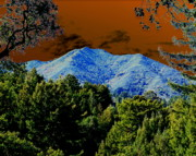 Marin County Digital Art Prints - Tamalpais on a Thursday Print by Ben Upham