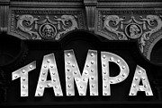 Movie Art Prints - Tampa Theatre 1926 Print by David Lee Thompson