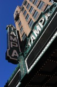Historic Buildings Posters - Tampa Theatre  Poster by Carol Groenen