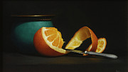 Tangerine Paintings - Tangerine Dream by Paul Coventry-Brown