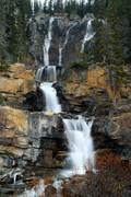 Falling Water Photos - Tangle Falls by Larry Ricker