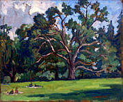 Abstract Composition Paintings - Tanglewood Saturday by Thor Wickstrom