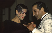 Tango Photos - Tango dancers by Michael Mogensen