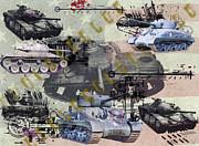 Tanks Print by Ken Frischkorn