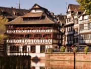 Medieval City Framed Prints - Tanners House Strasbourg Framed Print by Louise Heusinkveld