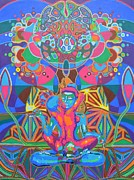 Sacred Digital Art Originals - Tantra Lovers - 2012 by Markus  Meier