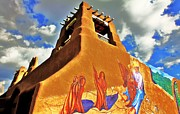 Adobe Framed Prints - Taos Framed Print by Benjamin Yeager