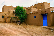 Taos Prints - Taos Print by Jerry McElroy