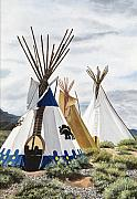 Mary Rogers Prints - Taos Print by Mary Rogers
