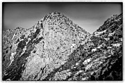 Taos Prints - Taos Mountain 3 Print by Lisa  Spencer