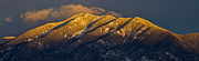 Taos Photo Prints - Taos Mountain Print by Atom Crawford