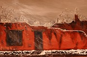 Robert Handler Art - Taos Pueblo In The Snow by Robert Handler