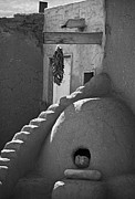 Architecture Photos Art - Taos Pueblo Oven by Melany Sarafis