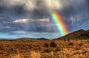 Taos Prints - Taos Rainbow Print by William Wetmore
